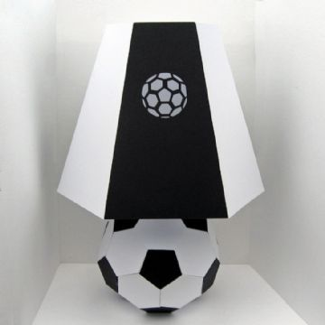 Football/Soccer Lamp Template